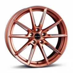 Cerchi in lega Borbet LX 19x8 ET 49 5x112 copper matt spoke rim polished
