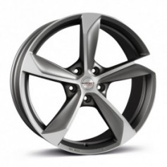 Cerchi in lega Borbet S 17x8 ET 35 5x105 graphite polished matt