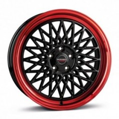 Cerchi in lega Borbet B 18x8 ET 45 5x112 black rim red
