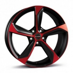 Cerchi in lega Borbet S 19x8,5 ET 45 5x112 black red matt
