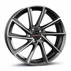 Cerchi in lega Borbet VTX 19x7,5 ET 40 5x114,3 graphite polished