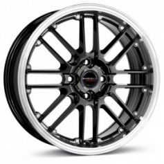 Cerchi in lega Borbet CW2 17x7 ET 20 4x108 black rim polished