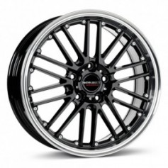 Cerchi in lega Borbet CW2 17x7 ET 45 5x108 black rim polished