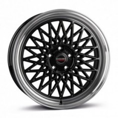 Cerchi in lega Borbet B 17x8 ET 40 5x100 black rim polished
