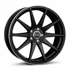 Cerchi in lega Borbet GTX 19x8,5 ET 30 5x120 black rim polished matt