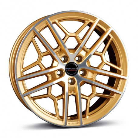Cerchi in lega Borbet GTY 19x8,5 ET 45 5x112 gold polished matt