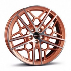 Cerchi in lega Borbet GTY 19x8,5 ET 45 5x114,3 copper polished glossy